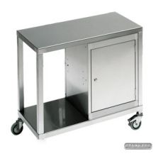 Pelstor Stainless Steel Trolley with Cabinets