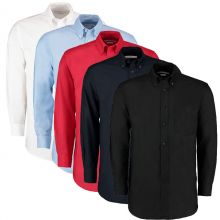 Kustom Kit Mens Workplace Long Sleeved Shirt