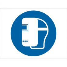 Dependable Wear Welding Mask Symbol Signs