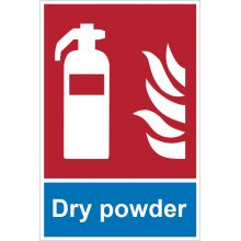 Dependable Dry Powder Extinguisher Signs