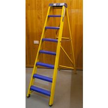 Bratts Ladders Swingback Ladders with Glass Fibre Treads