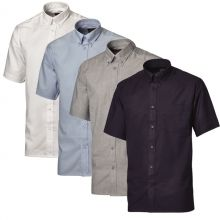 Dickies Mens Oxford Weave Short Sleeved Shirts