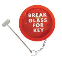 Dependable Spare Glass for Key Box