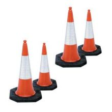 Dependable Two Part Traffic Cones