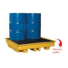 Dependable 4-Drum Spill Pallet