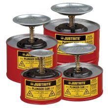 Justrite Plunger Dispensing Cans