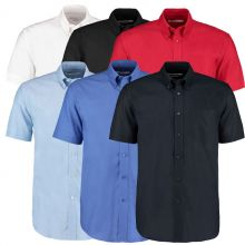 Kustom Kit Men's Workplace Short Sleeved Shirts