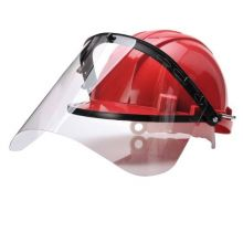 Safety Helmet Visor Attachment With Face Shield