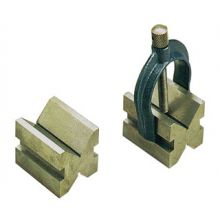 Moore & Wright Vee Blocks and Clamp