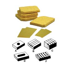 Plato Tip Cleaning Sponge for Weller® DS-106, Metcal® STSS-452