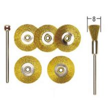 Proxxon Brass Brush Wheels