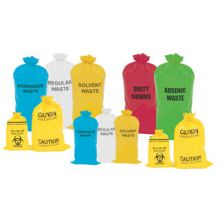 Reliable Waste Disposal Bags Printed