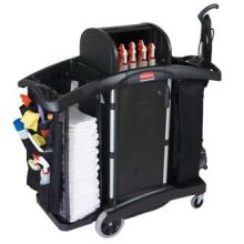 Rubbermaid Deluxe Cleaning Cart