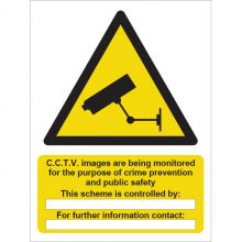 Dependable Caution! CCTV In Operation Signs