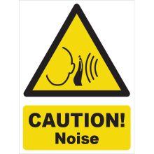 Dependable Caution! Noise Signs