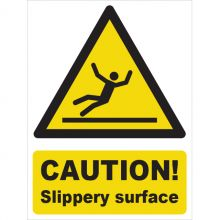 Dependable Caution! Slippery Surface Signs