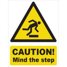 Dependable Caution! Mind the Step Signs
