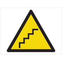 Dependable Caution! Steep Stairs Symbol Signs