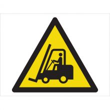 Dependable Caution! Fork Lifts Operating Symbol Signs
