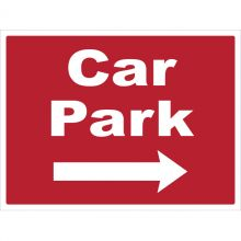 Dependable Car Park Right Signs
