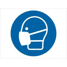 Dependable Wear Face Mask Symbol Signs