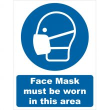Dependable Face Mask Must Be Worn Signs