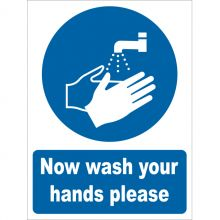 Dependable Now Wash Your Hands Signs
