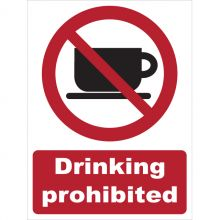 Dependable Drinking Prohibited Signs