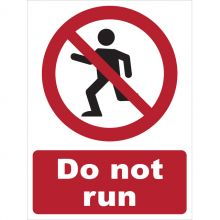 Dependable Do Not Run Signs