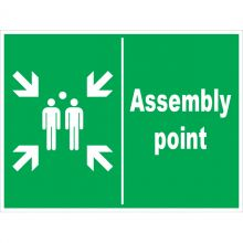 Dependable Assembly Point Signs Landscape
