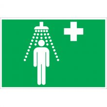 Dependable Emergency Shower Symbol Signs