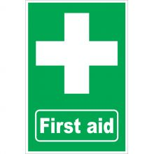 Dependable First Aid Signs