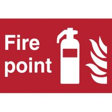 Dependable Fire Extinguisher Point Signs