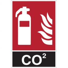 Dependable CO2 Extinguisher Signs