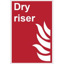 Dependable Dry Riser Signs