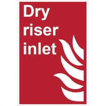 Dependable Dry Riser Inlet Signs