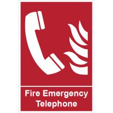 Dependable Fire Telephone Signs