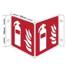 Dependable Fire Point Projection Sign