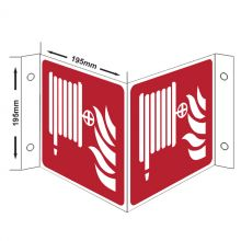 Dependable Fire Hose Projection Sign