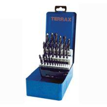 Terrax Twist Drill Set 25pc