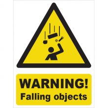 Dependable Warning! Falling Objects Signs