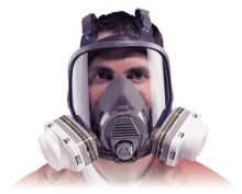 3M 6000 Series Low Maintenance Full Face Masks