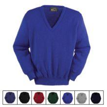 Balmoral Wool V-Neck Pullover