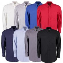 Kustom Kit Men's Oxford Long Sleeved Shirts