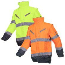 Sioen Campbell Hi-Vis Winter Bomber Jacket