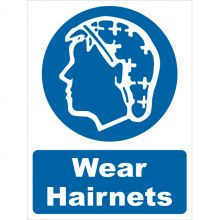 Dependable Wear Hairnets Signs
