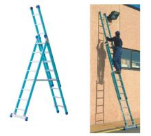 Marchetti 3-Way Combination Fibreglass Ladders