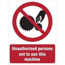 Dependable Unauthorised Persons Not To Use This Machine