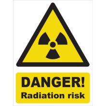 Dependable Danger! Radiation Risk Signs