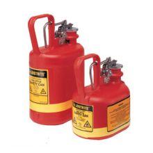 Justrite Type I Oval Polyethylene Safety Cans
